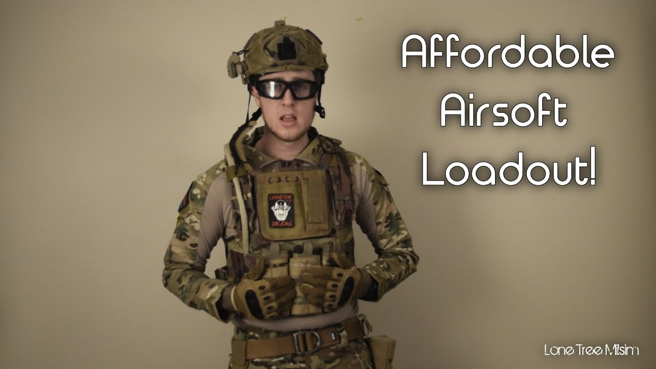 Airsoft Loadout, Lightweight Day Game Kit - Airsoftpeak.com - YouTube