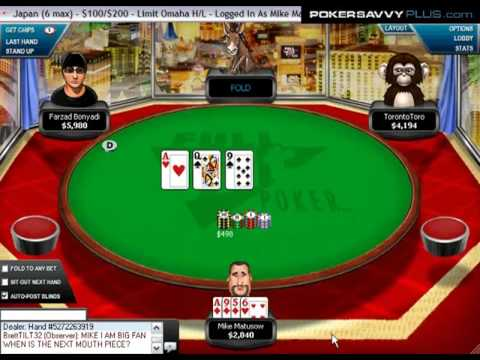 Mike Matusow #6: $100/200 Limit Omaha H/L from YouTube · Duration:  3 minutes 8 seconds