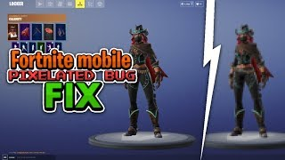 HOW TO FIX Fortnite Mobile Graphics Glitch (v10.0) | Low Graphics Bug