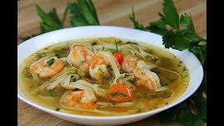 Amazing Shrimp Broff (shrimp soup) #TastyTuesdays   CaribbeanPot.com