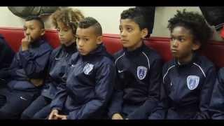 Rencontre entre les jeunes du Paris FC et Liverpool par AMSAK.net
