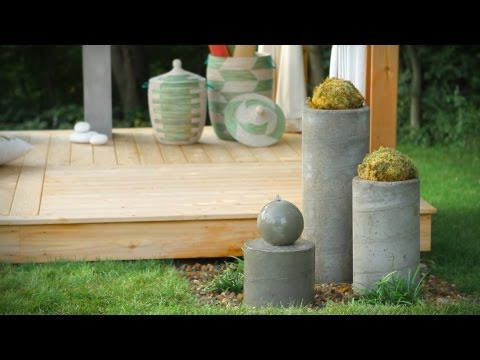 How To Build An Outdoor Zen Garden Water Fountain