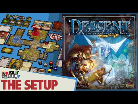 Descent Second Edition - How To Play - Setup