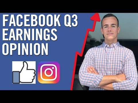 FACEBOOK Q3 EARNINGS 📈 My Opinion On Facebook Stock Right Now!