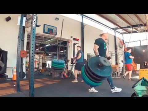 When The Gym Equipment Breaks In Half