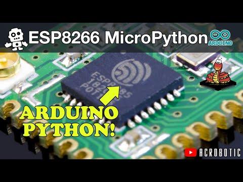 ESP8266 Running Python Using MicroPython (Mac OSX And Windows)