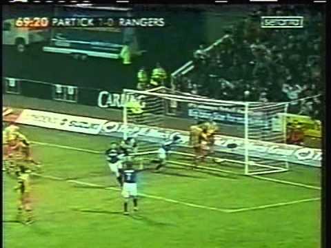 Download 2002 (December 22) Patrick Thistle 1- Rangers Glasgow 2 (Scottish Premier League)