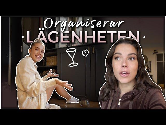 ORGANISERAR OM HELA MIN LÄGENHET