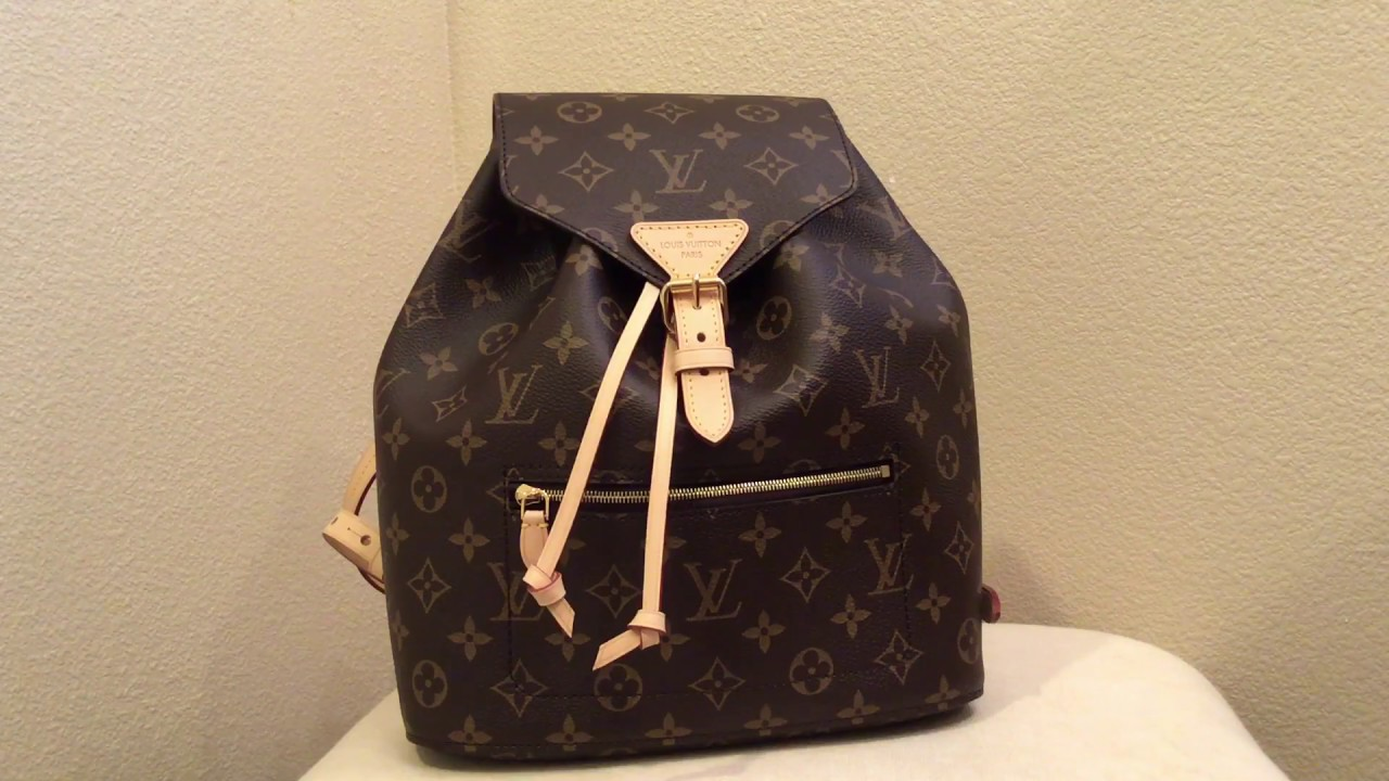 Louis Vuitton Montsouris Backpack Review - Updated New Model 2018 ... 714ca82c33c85