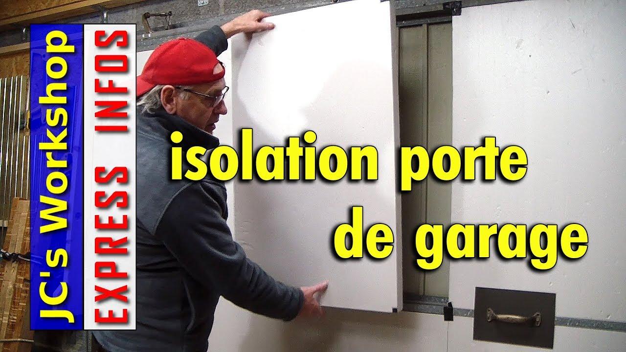 Comment isoler une porte de garage express infos 008 - Comment reboucher une porte ...