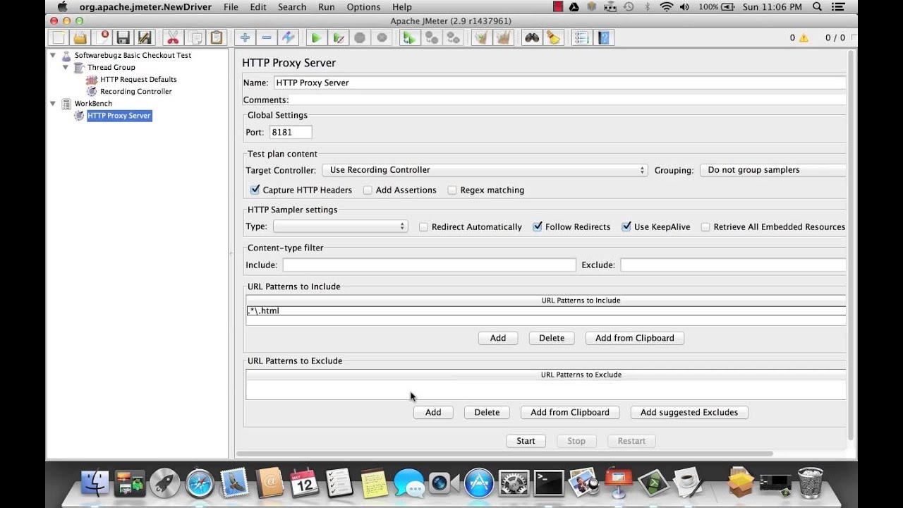 JMeter Browser Recording Tutorial - YouTube
