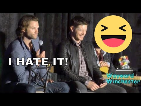 Jared Padalecki HATES doing THIS On Supernatural & Jensen LOSES IT! SanFranCon 2017