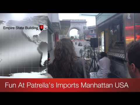 FUN AT PATRELLA'S IMPORTS MANHATTAN USA