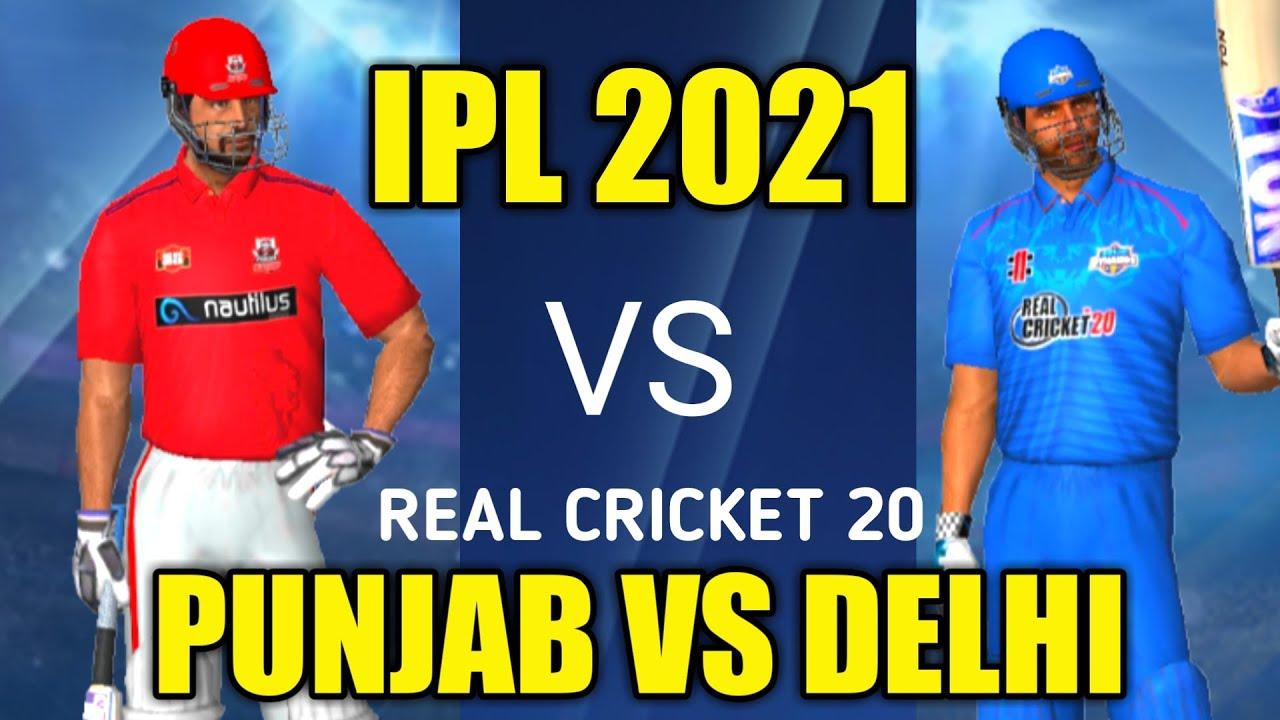 KINGS XI PUNJAB VS DELHI CAPITALS T20 MATCH IPL 2021 | HARDCORE MODE REAL CRICKET 20 | WCC3