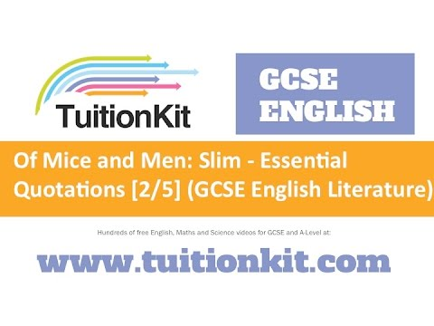 What do you need to include in English Literature 'Of Mice and Men' to get an A*?