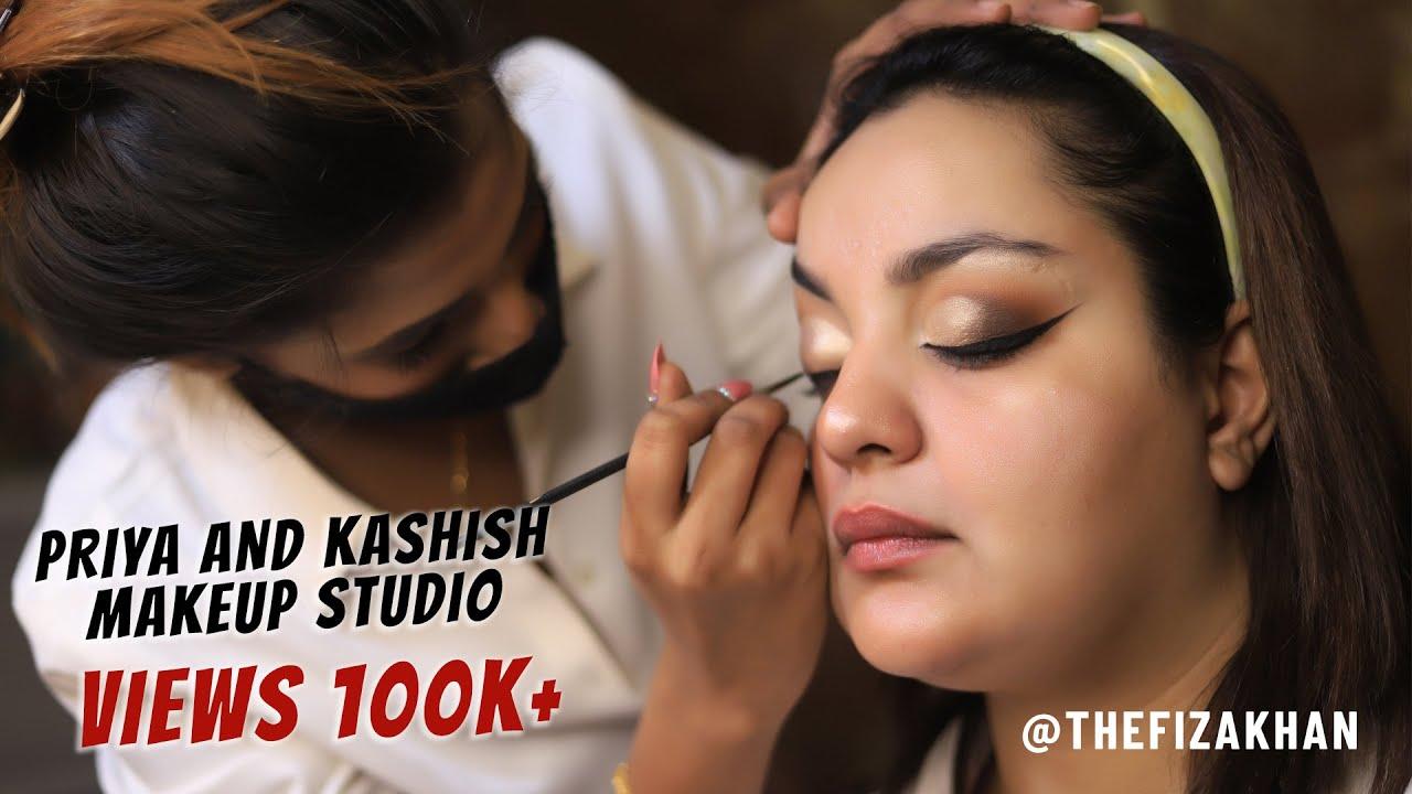 Advance & Easy Western Bridal Makeup With Glossy Makeup ft. The Fizah Khan | @PK Makeup Studio