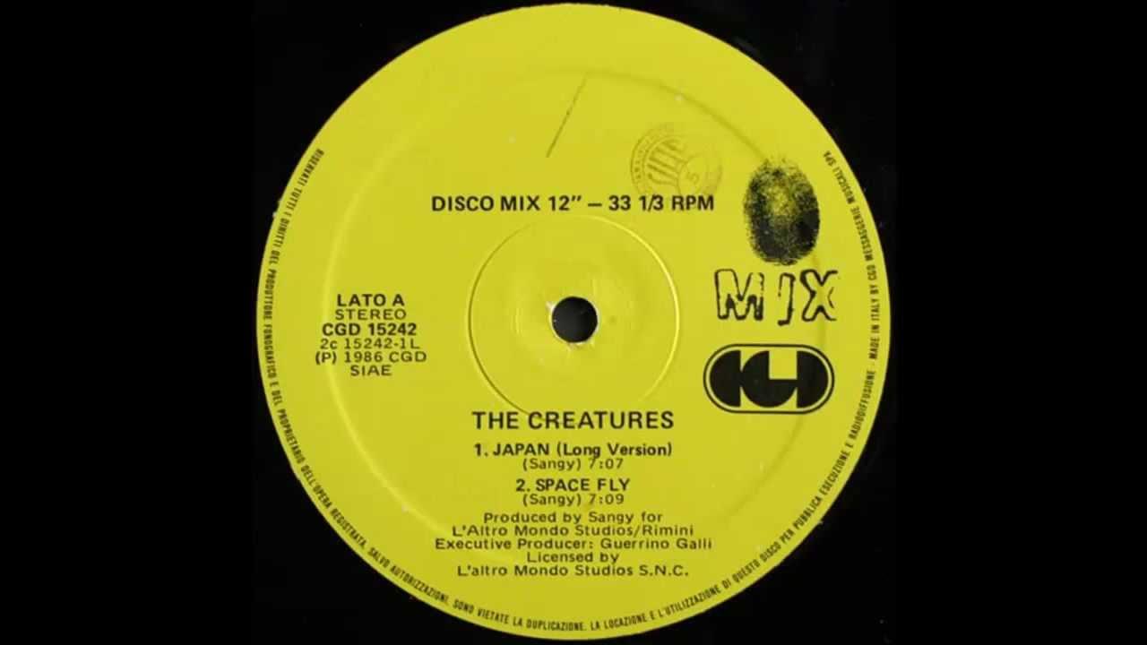 The Creatures -- Japan ( 1986 Italo Disco Collection)