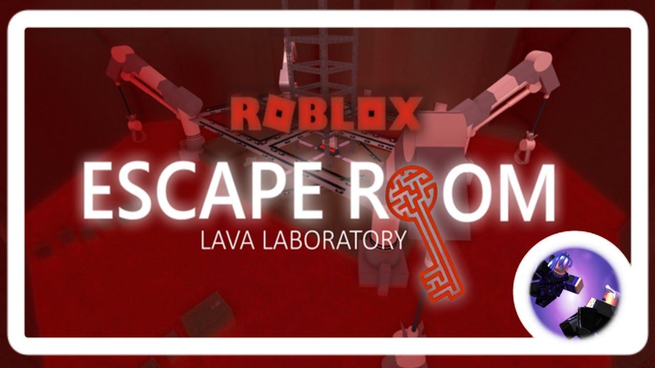 Escape Room Lava Laboratory Roblox