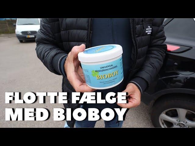 Flotte alufælge med BioBoy