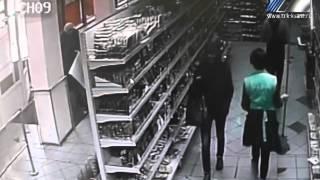 Это покушение на грабеж запомнят не только сотрудники полиции, но и работники супермаркета(, 2015-12-11T03:00:43.000Z)