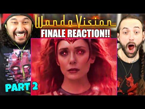 WANDAVISION 1x9 SERIES FINALE REACTION! (PART 2) Episode 9 | Ending \u0026 Post-Credits Scene | Breakdown