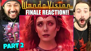 WANDAVISION 1x9 SERIES FINALE REACTION! (PART 2) Episode 9 | Ending & Post-Credits Scene | Breakdown