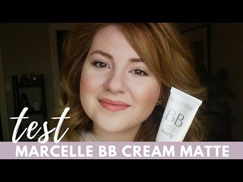 Marcelle BB Cream Matte Demo & Wear Test   Hey Julia Rae