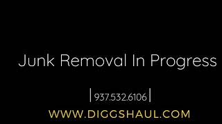Junk Removal In Progress - Diggs Haul INC.
