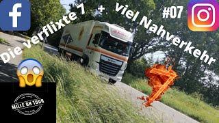 Die verflixte 7+viel Nahverkehr #07  I Mille on Tour I Trucker Doku Deutsch I Fernverkehr