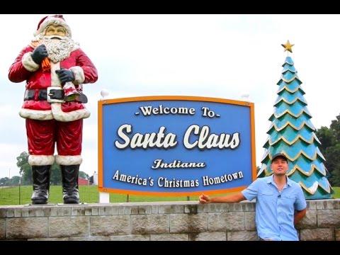 The Hungry Cowboy Visits Holiday World In Santa Claus Indiana