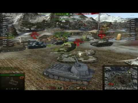 Лаг\Баг World Of Tanks всем смотреть!!!Тестовый сервер 0.9.4