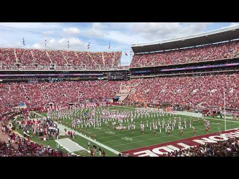 Tennessee at Alabama Fly Over