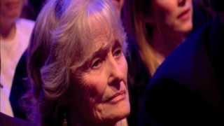 Virginia McKenna receives British Animal Honour from Brian May & Anita Dobson 11 Apr 2013