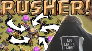 UNFASSBARER RATHAUS 11 RUSHER! || CLASH OF CLANS || Let's Play CoC [Deutsch/German HD+]