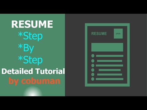 How to Write a Resume for IT, Desktop Support, Network Admin
