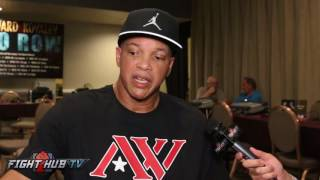 VIRGIL HUNTER ON WHEN ANDRE WARD WILL RETIRE & FIGHTING ANTHONY JOSHUA FOR HEAVYWEIGHT TITLE