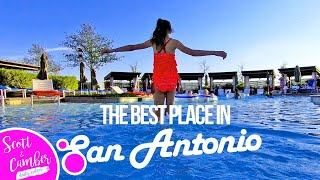 THE BEST PLACE TO SWIM AND STAY IN SAN ANTONIO!! OUR JW MARRIOTT EXPERIENCE | Scott and Camber