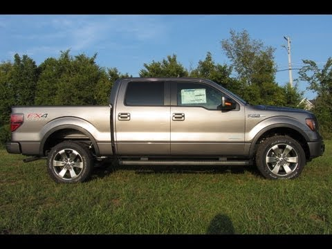 What Is Ecoboost >> SOLD.2012 FORD F 150 SUPER CREW FX4 STERLING GREY ECOBOOST LUXURY FORD OF MURFREESBORO 888 439 ...