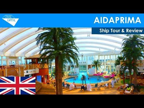 AIDAprima Ship Tour & Review (English)