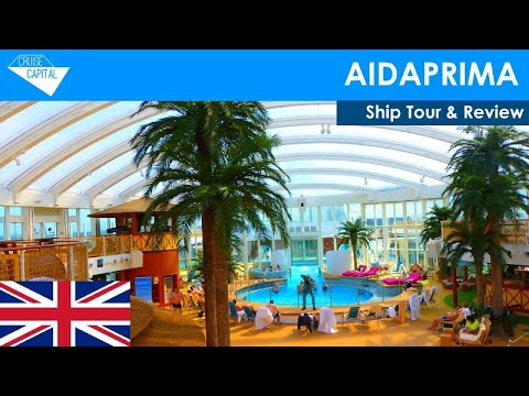 AIDAprima Ship Tour & Review (English)