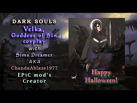 Dark Souls: Velka, Goddess of Sin cosplay play-thru
