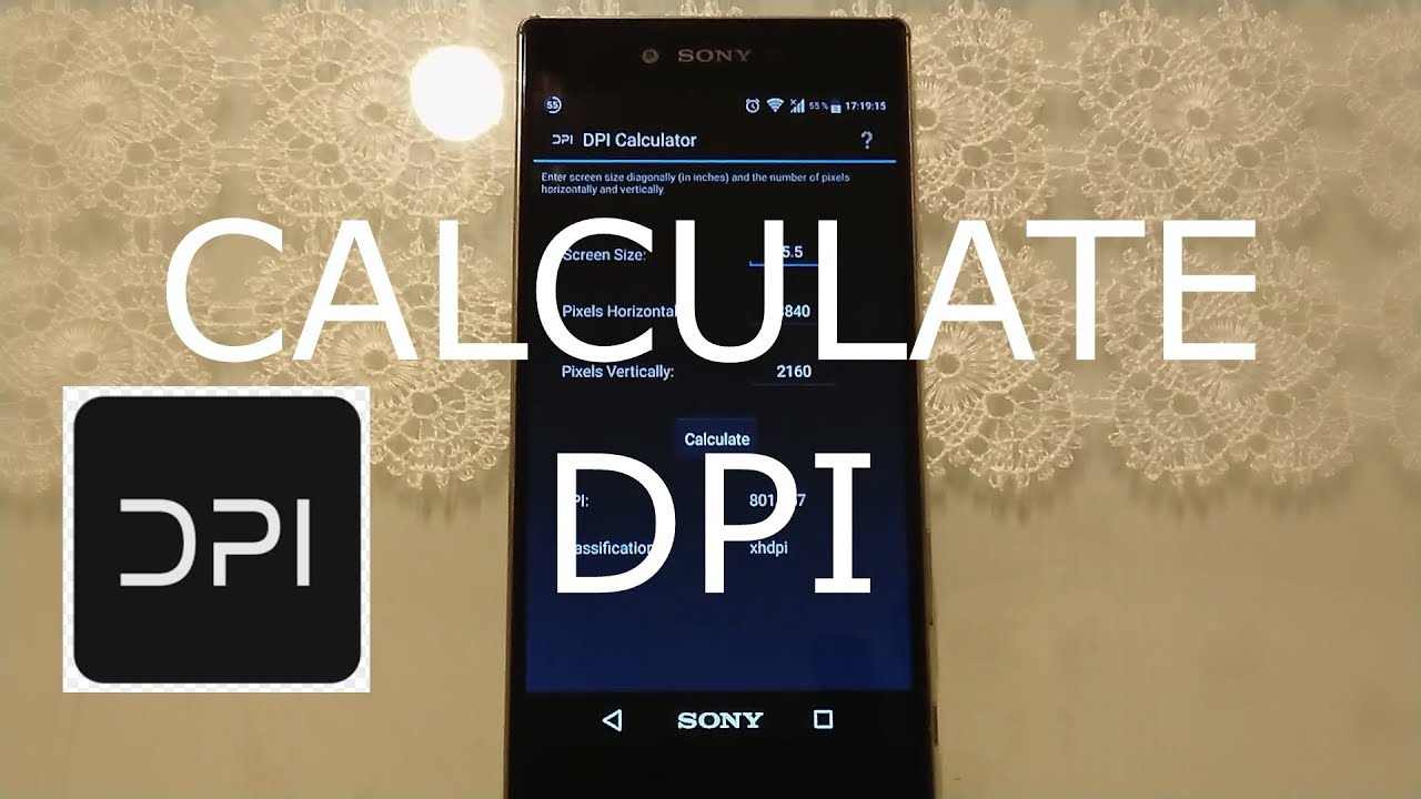 HOW TO CALCULATE DPI (ANDROID)