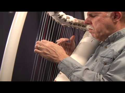 Blue Danube Waltz- Strauss performed on pvc harp by John Kovac, harper and harp maker