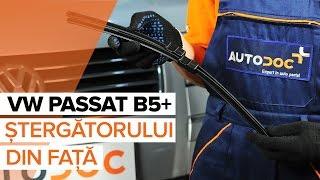 Cum schimbare Lamela stergator VW PASSAT Variant (3B5) - video online gratuit
