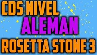 Rosetta Stone 3 (NIVEL ALEMAN) APRENDE FACIL EL ALEMAN Y GRATIS!