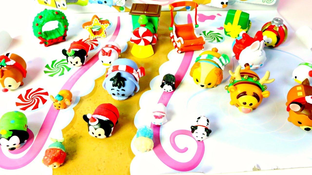 Advent Disney Frozen Tsum Calendario Juguetes Calendar mdj De Mickey Ariel Minnie tsum j3L5A4R
