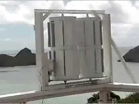 What's Inside a Vertical Solar  Wind Turbine?