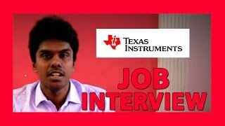 How To Prepare For Campus Interviews Texas Instruments Youtube