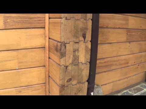 Ошибки при строительстве домов из профилированного бруса (КЛЕЕНОГО) ОБЗОР  ЧАСТЬ1