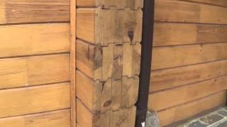 видео Профилированный брус: плюсы и минусы. Строительство домов из профилированного бруса